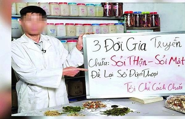 Thuốc Đông Y không rõ nguồn gốc bán tràn lan trên mạng