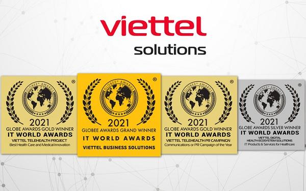 Những giải thưởng Viettel Solutions đạt được tại cuộc thi IT World Awards 2021