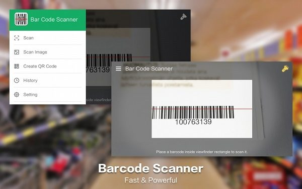 Ứng dụng George Barcode Scanner