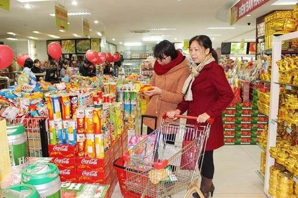 Mã Qr code phủ sóng sản phẩm trong các siêu thị ngày giáp tết